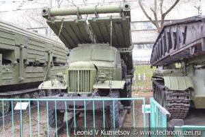 Колейно-механизированный мост КММ в Центральном музее Вооруженных Сил