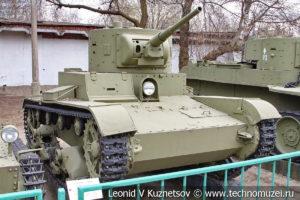 Легкий танк Т-26 однобашенный вариант в Центральном музее Вооруженных Сил