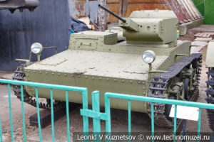 Малый плавающий танк Т-38 в Центральном музее Вооруженных Сил