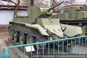 Легкий танк БТ-7 в Центральном музее Вооруженных Сил