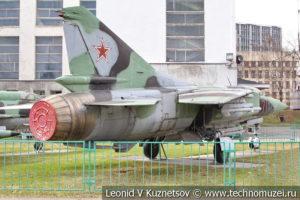 Реактивный истребитель МиГ-23С в Центральном музее Вооруженных Сил