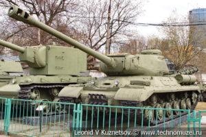 Тяжелый танк ИС-2 в Центральном музее Вооруженных Сил
