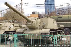 Самоходная артиллерийская установка ИСУ-122 в Центральном музее Вооруженных Сил