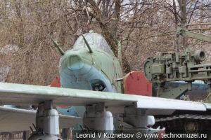 Реактивный штурмовик Су-25 в Центральном музее Вооруженных Сил