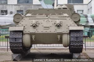 Самоходная артиллерийская установка СУ-100 в Центральном музее Вооруженных Сил