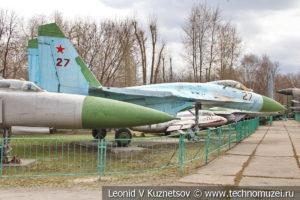 Сверхзвуковой реактивный истребитель-перехватчик Су-15ТМ в Центральном музее Вооруженных Сил