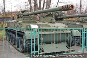 152-мм самоходная пушка 2С5 Гиацинт-С (Объект 307) в Центральном музее Вооруженных Сил