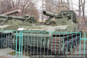 240-мм самоходный миномет 2С4 Тюльпан в Центральном музее Вооруженных Сил