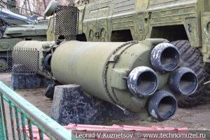 Оперативно-тактический ракетный комплекс 9К76 Темп-С (ОТР-22) в Центральном музее Вооруженных Сил