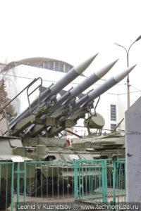 Зенитный ракетный комплекс 2К12 Куб в Центральном музее Вооруженных Сил