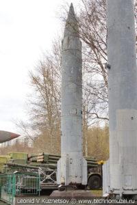 Баллистическая ракета морского базирования Р-13 в Центральном музее Вооруженных Сил