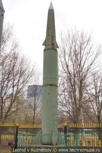 Американская баллистическая ракета Pershing II MGM-31C в Центральном музее Вооруженных Сил