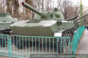 120-мм самоходное орудие 2С9 Нона-С в Центральном музее Вооруженных Сил