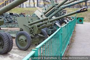 76-мм дивизионная пушка ЗиС-3 (52-П-354У) образца 1942 года в Центральном музее Вооруженных Сил