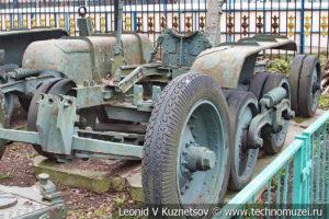 Орудийная повозка Бр-10 в Центральном музее Вооруженных Си