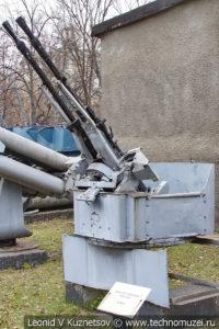14,5-мм корабельная спаренная зенитная пулеметная установка в Центральном музее Вооруженных Сил