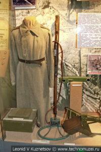 Стенд об инженерных войсках в Центральном музее Вооруженных Сил