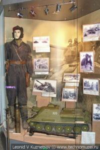 Танковые войска РККА в Центральном музее Вооруженных Сил