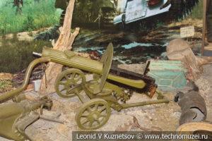 Станковый пулемет Максим в Центральном музее Вооруженных Сил