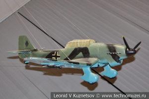 Макет пикирующего бомбардировщика Ju-87 Stuka в Центральном музее Вооруженных Сил