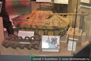 Макет танка T-V Пантера в Центральном музее Вооруженных Сил