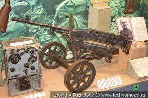 7,62-мм пулемет Горюнова в Центральном музее Вооруженных Сил