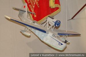 Самолет-амфибия МБР-2 в Центральном музее Вооруженных Сил