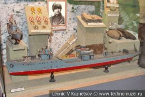 Базовый тральщик проекта 3 в Центральном музее Вооруженных Сил