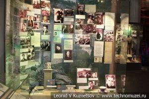 Известные актеры - участники войны в Центральном музее Вооруженных Сил