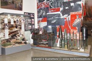 Токарный станок из снарядного цеха завода имени Ильича в Центральном музее Вооруженных Сил