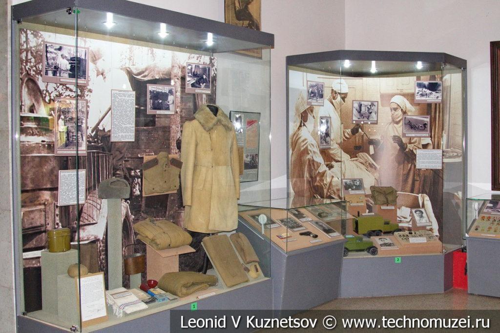 Фронтовые госпитали и санитарные поезда в Центральном музее Вооруженных Сил