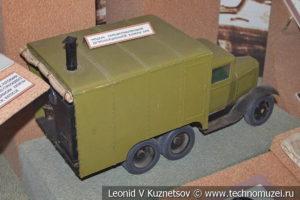 Модель пароформалиновой дезинфекционной камеры АПК в Центральном музее Вооруженных Сил