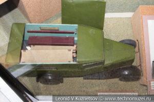 Модель санитарного автобуса ГАЗ-55 в Центральном музее Вооруженных Сил