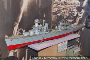 Крейсер Максим Горький в Центральном музее Вооруженных Сил