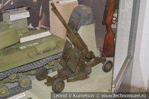 Модель 85-мм зенитной пушки в Центральном музее Вооруженных Сил