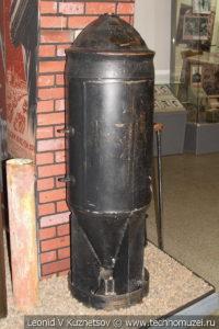 Фугасная авиабомба в Центральном музее Вооруженных Сил