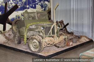 Джип Виллис в Центральном музее Вооруженных Сил