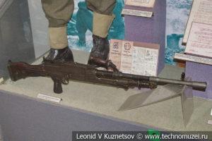 Английский 7,71-мм ручной пулемет Брэн Мк.1 в Центральном музее Вооруженных Сил
