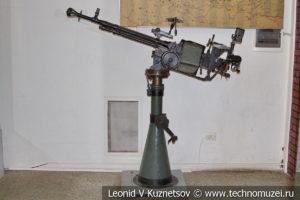 Крупнокалиберный пулемет ДШК сторожевого корабля Смерч в Центральном музее Вооруженных Сил