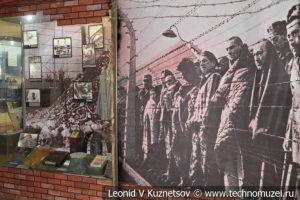 Освобождение узников концлагерей в Центральном музее Вооруженных Сил
