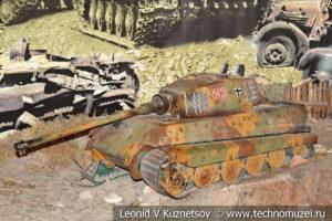 Танк T-VI Королевский тигр в Центральном музее Вооруженных Сил