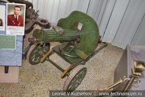 Пулемет Максим сержанта М.Б. Бабаджанова в Центральном музее Вооруженных Сил
