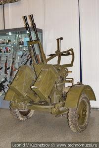 14,5-мм спаренная зенитная пулемётная установка ЗПУ-2 в Центральном музее Вооруженных Сил