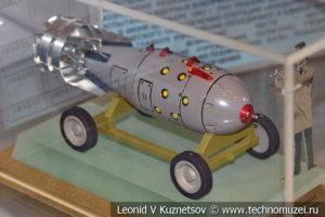 Первая советская серийная атомная бомба в Центральном музее Вооруженных Сил