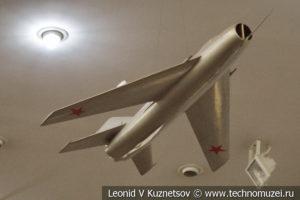 Модель МиГ-19 в Центральном музее Вооруженных Сил