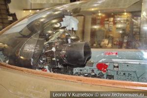 Кабина истребителя МиГ-21 ПФМ в Центральном музее Вооруженных Сил