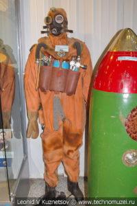 Облегченное водолазное снаряжение в Центральном музее Вооруженных Сил