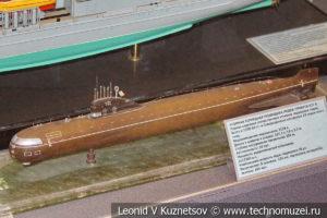 Атомная торпедная подводная лодка проекта 627А в Центральном музее Вооруженных Сил