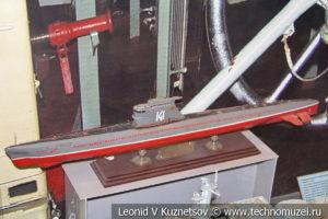 Дизель-электрическая подводная лодка проекта 613 в Центральном музее Вооруженных Сил