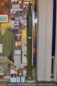 Модель стратегической ракеты Р-12 в Центральном музее Вооруженных Сил